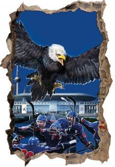 Mannheim Eishockey Wandtattoo