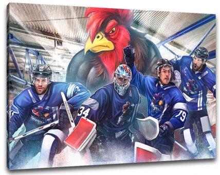 Iserlohn Eishockey Leinwand